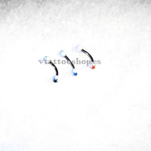 ESTRELLA BOLA BLANCA CEJA 1.2 x 8 mm