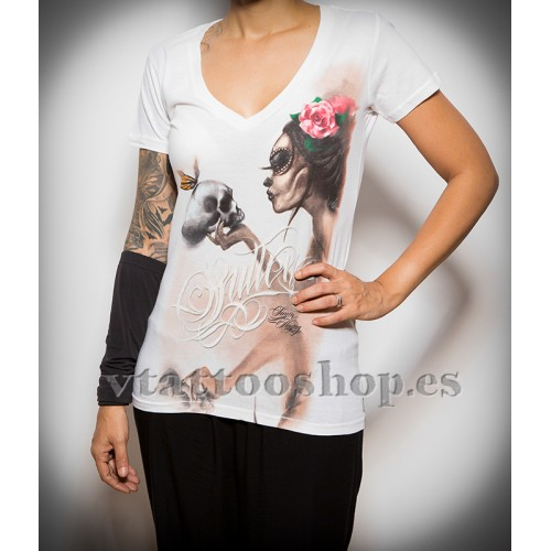CAMISETA SULLEN WHISPER WOMAN VTATTOO