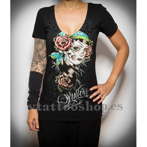 Camiseta Sullen Victorian rose