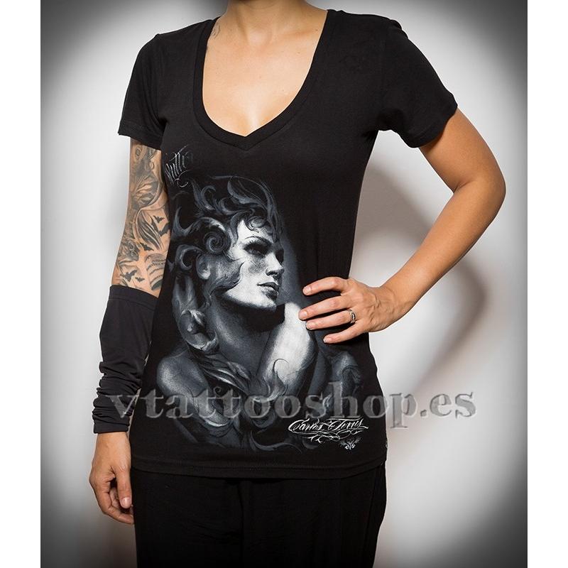 Sullen Day dream Woman t-shirt