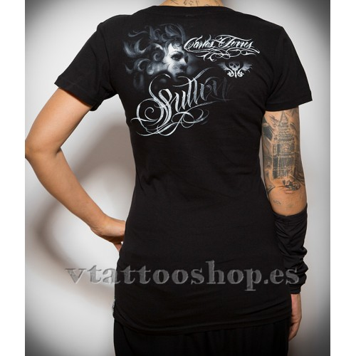 Sullen Day dream Woman t-shirt