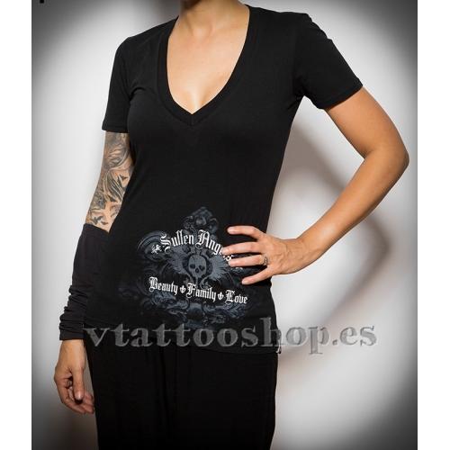 Camiseta Sullen Stone Cross woman