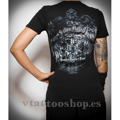 SULLEN STONE CROSS WOMAN T-SHIRT