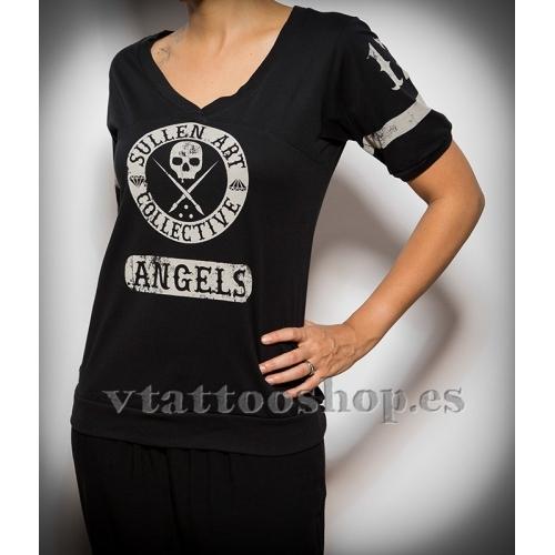 Camiseta Sullen Score gris woman