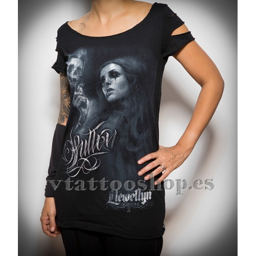 Camiseta Sullen Live fast die young woma