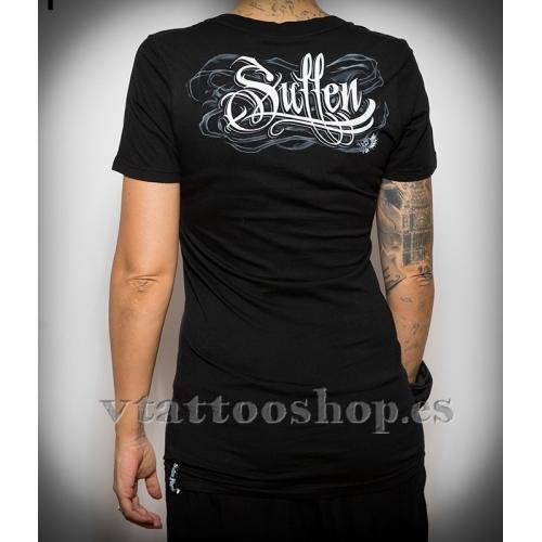 Camiseta Smokey skull woman