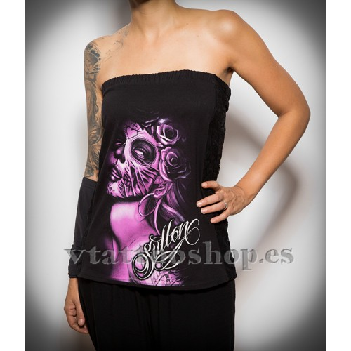 Camiseta Sullen top Lacey woman