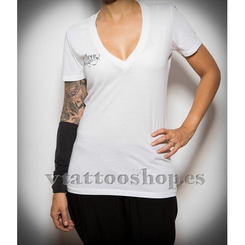 Camiseta Sullen Embrance Blanca woman
