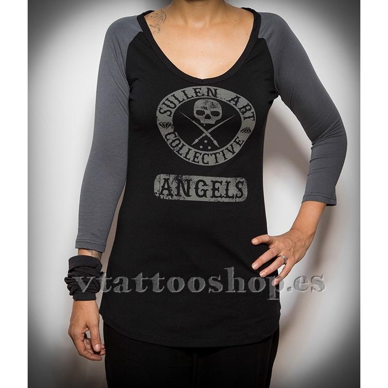 Sullen Ace 3/4 woman t-shirt