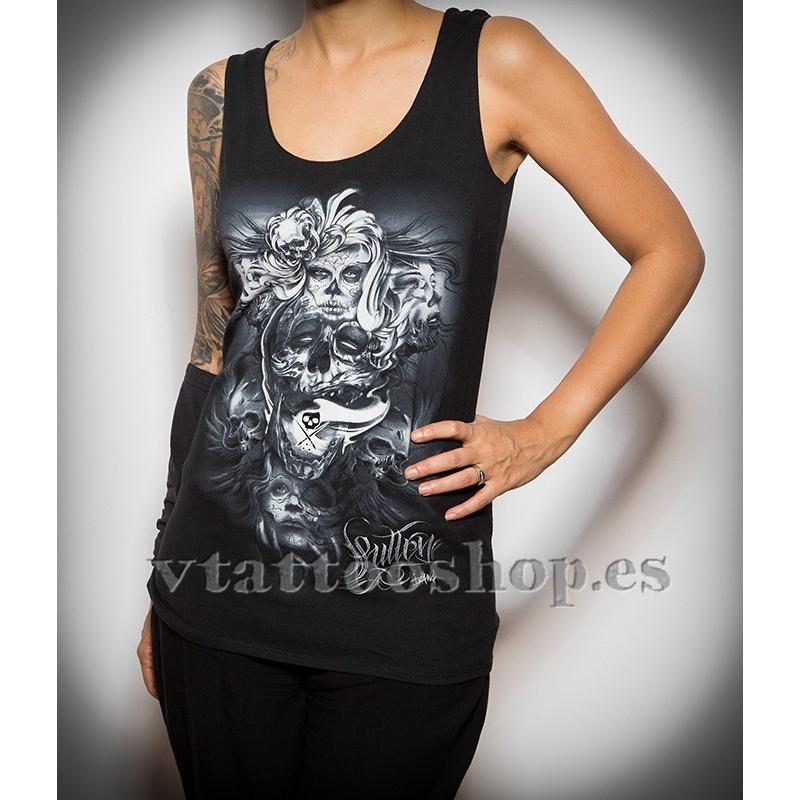 Camiseta Sullen Head Strong woman