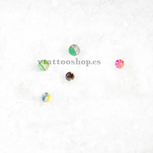 PACK AHORRO BOLAS 1.2 x 3 mm