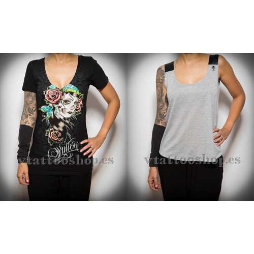 PACK AHORRO CAMISETAS SULLEN MUJER SMALL