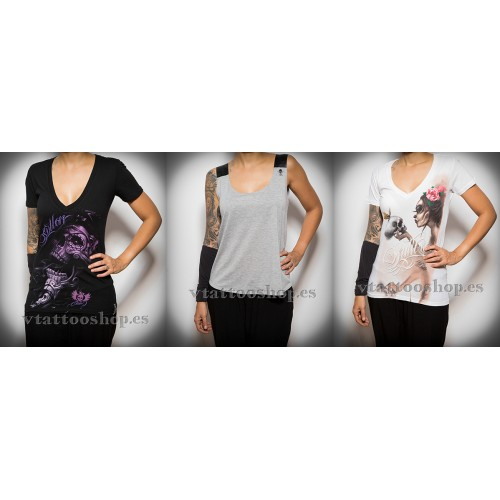 T-shirt savings pack sullen medium woman