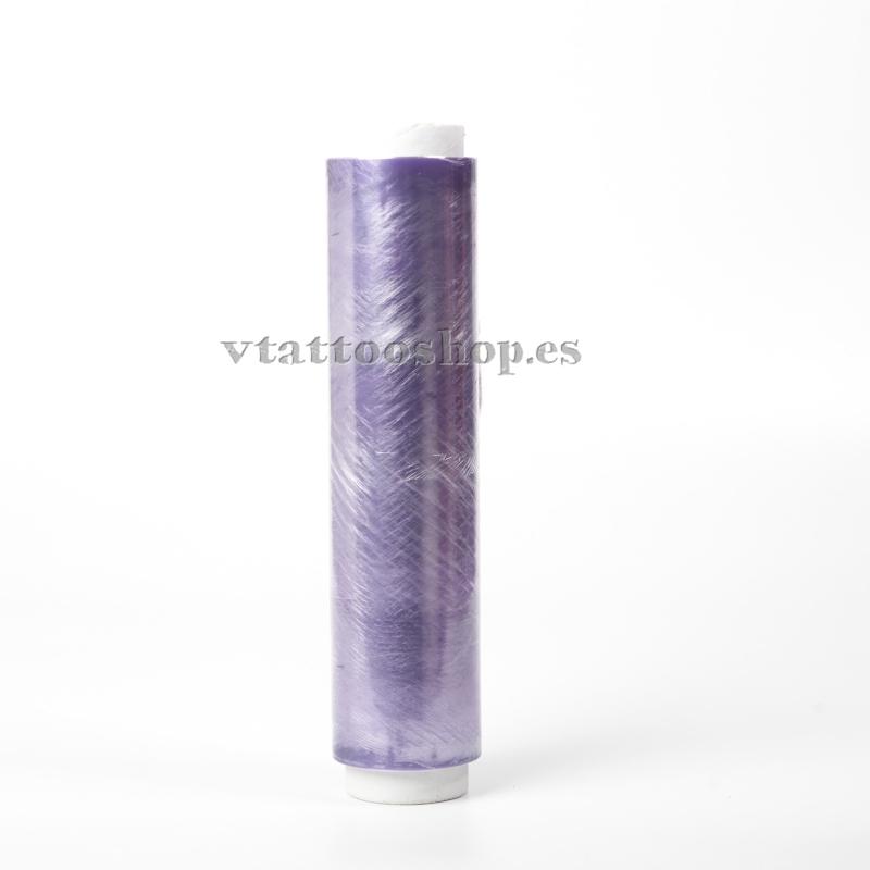Transparent film coil