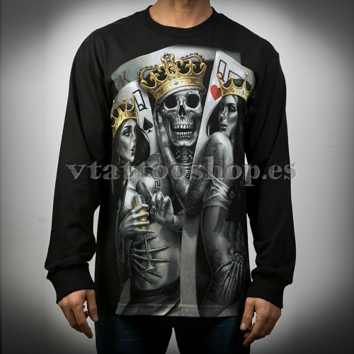 OG ABEL 2 OF A KING SPORT LONG SLEEVE T-SHIRT