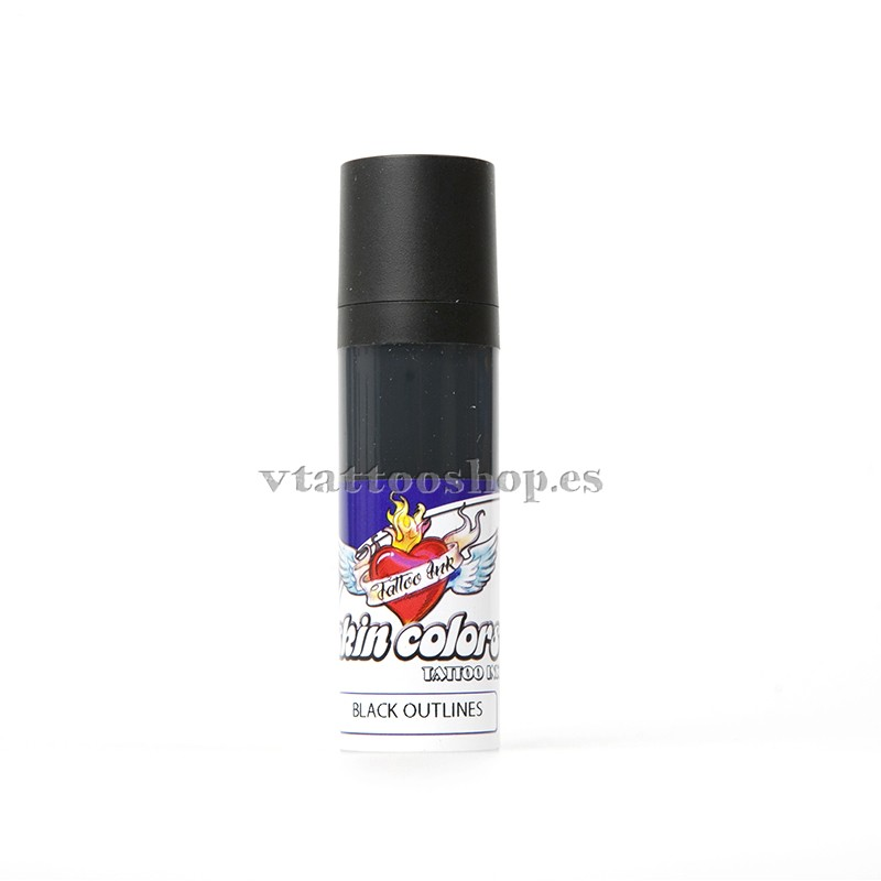 Skin colors ink black outlines 30 ml