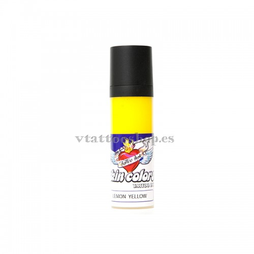 TINTA SKIN COLORS 30 ml LEMON YELLOW