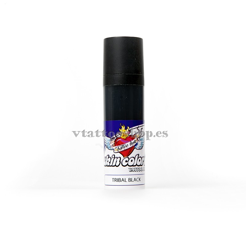 TINTA SKIN COLORS 30 ml TRIBAL BLACK