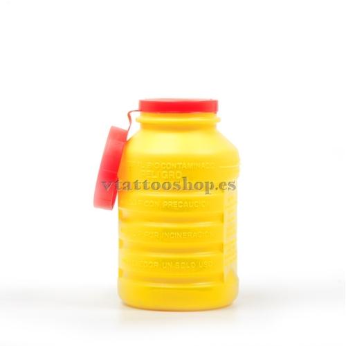 CONTENEDOR DE AGUJAS 1 litro.