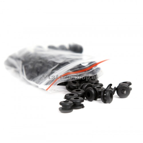 Double rubber grommets 100 u.