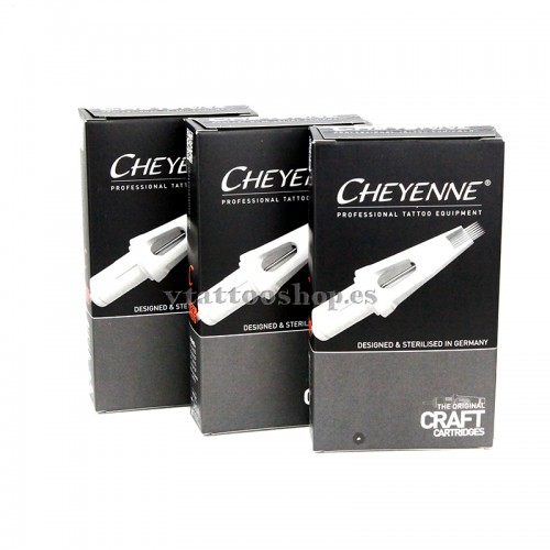 CARTUCHOS CRAFT CHEYENNE SOMBRAS RS