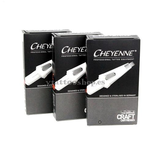Cartuchos Cheyenne Craft magnum redondeadas RMSE