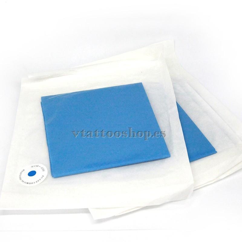 Blue sterile drapes 45x50 cm - 10 unit