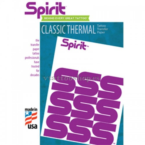 PAPEL TRANSFER CLASSIC THERMAL SPIRIT 100 uds.