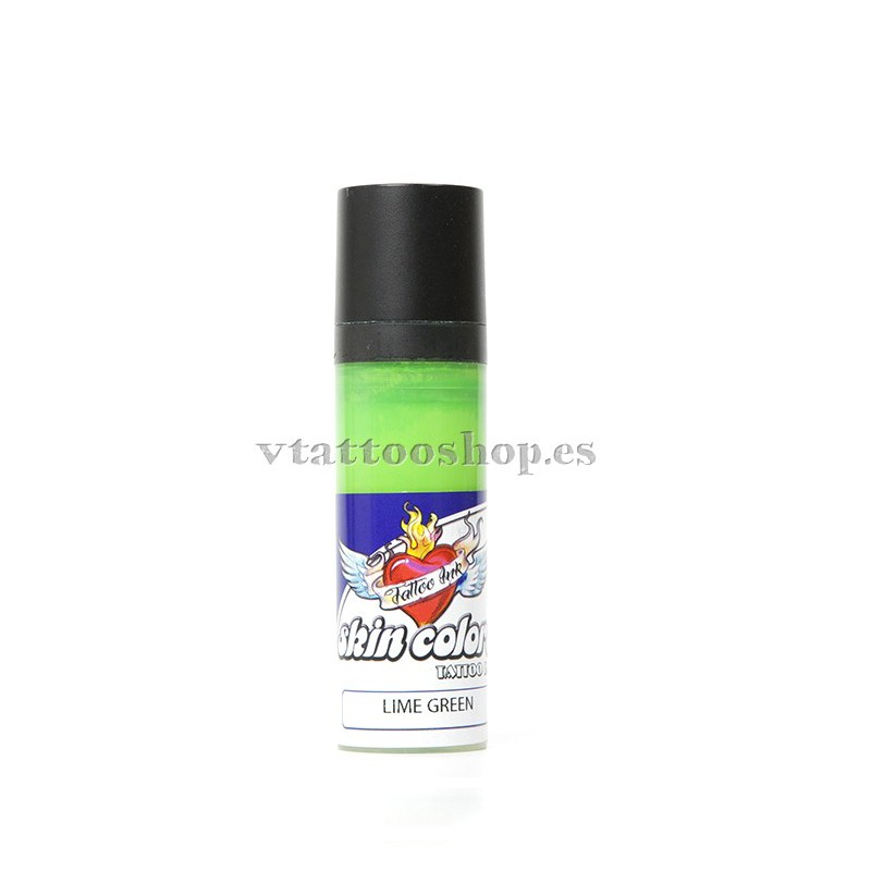 Skin colors ink lime green 30 ml