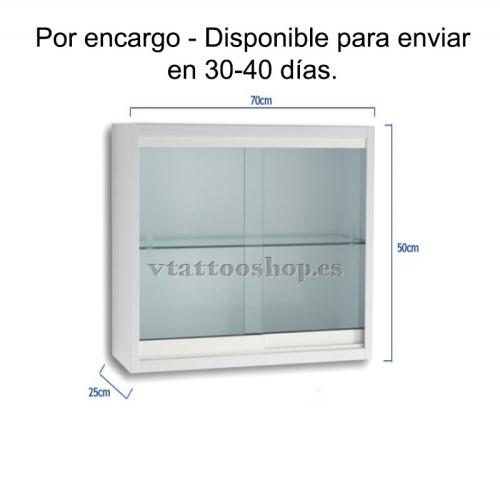 VITRINA MURAL DE PARED 70X25X50