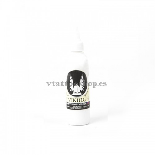 TINTA VIKING WHITE ULTRA 4 OZ BLANCO INTENSO
