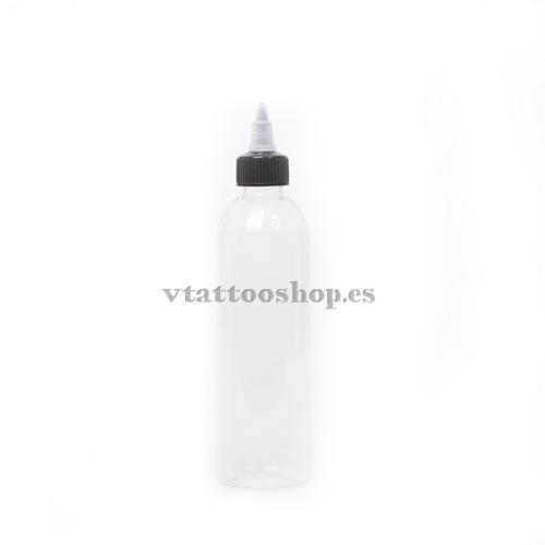 SELF-CLOSING PLASTIC BOTTLE 120 ml.