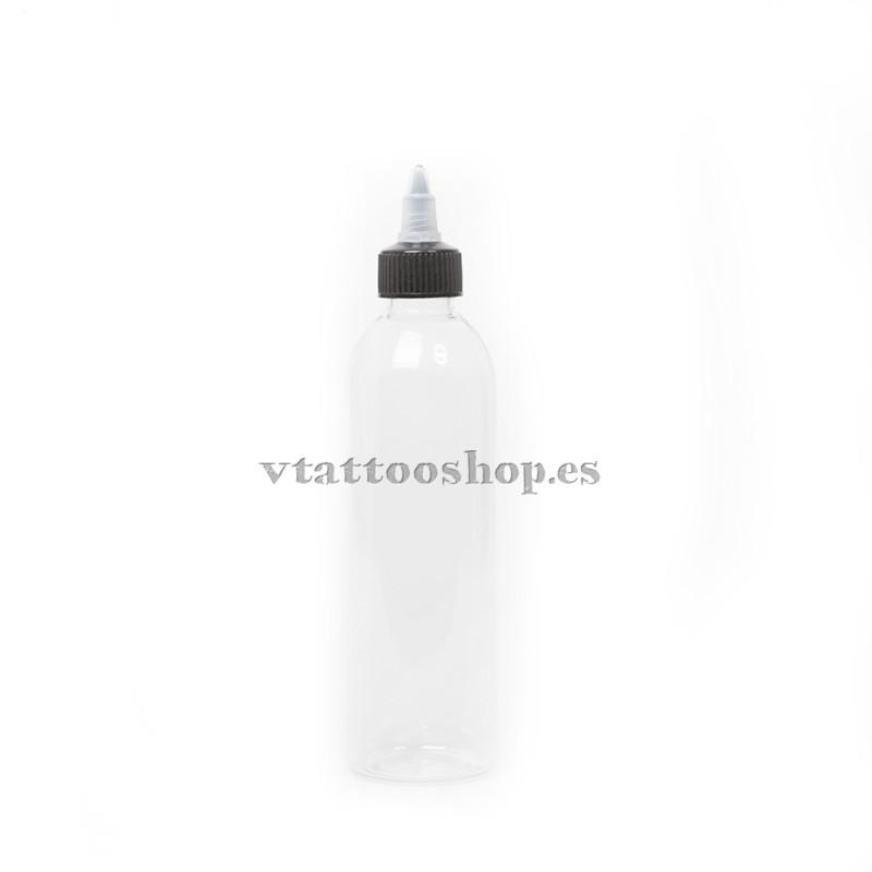 Self-closing plastic bottle 120 ml