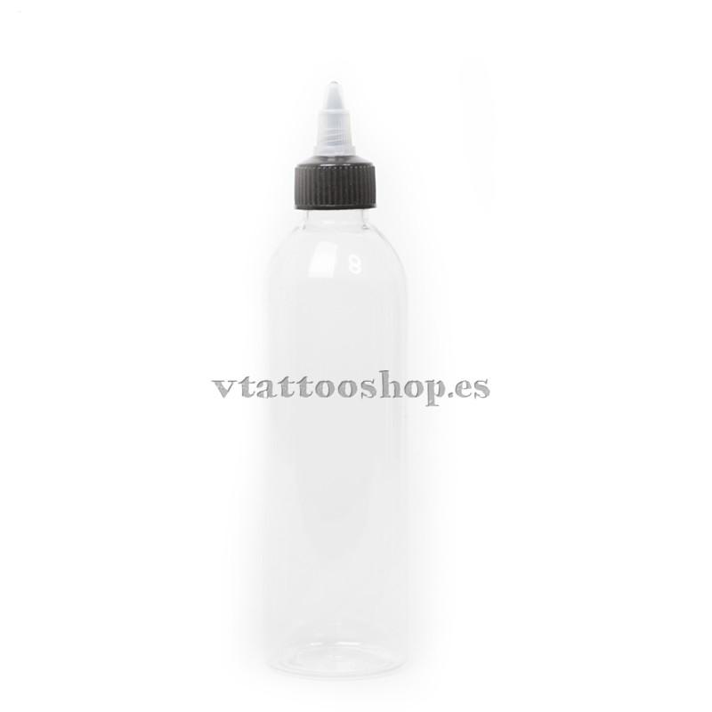 Botella plástico autocierre 250 ml