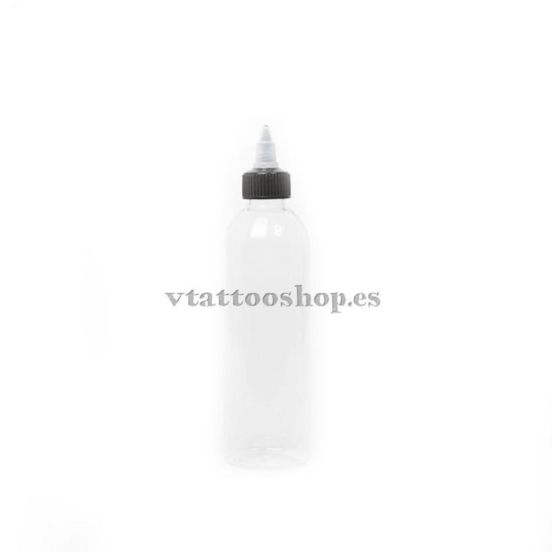 Botella de plástico autocierre 60 ml