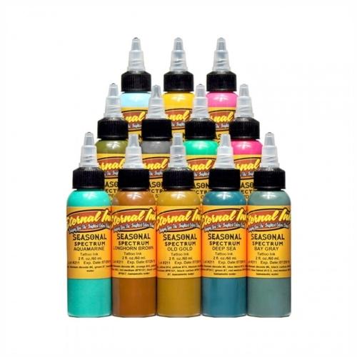 Set 12 colores Eternal Ink Chukes Seasonal Spectrum 30ml (1oz)