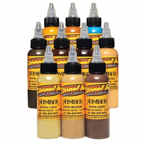 Set 10 Eternal Ink Rember Orellana Signature Series 30ml (1oz)