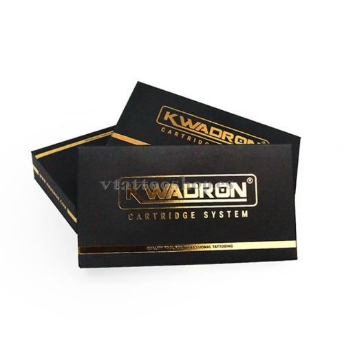 AGUJAS KWADRON CARTUCHO SOMBRAS REDONDA RS DE 0.35 mm