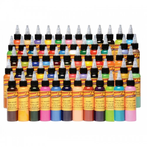 SET 60 TINTAS ETERNAL INK DE COLORES 30 ml (1 oz)