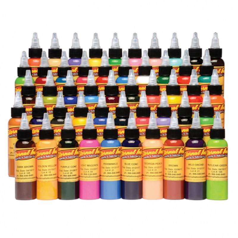 Set 50 tintas eternal ink de color