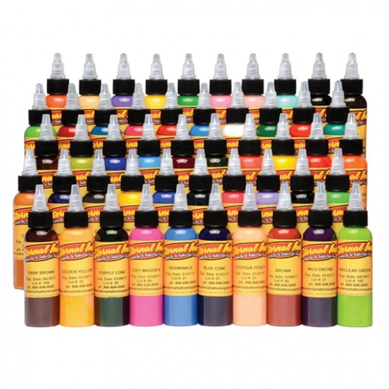 Set of 50 colours eternal ink