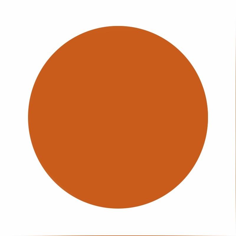 Eternal ink Muted earth tones burnt orange