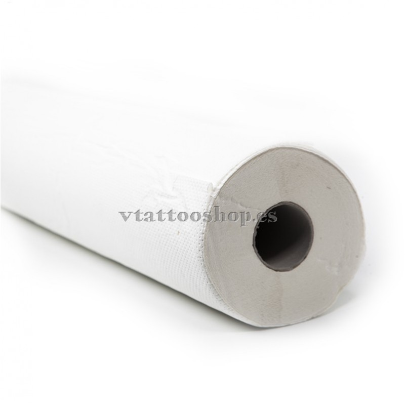 Embossed white stretcher paper eco