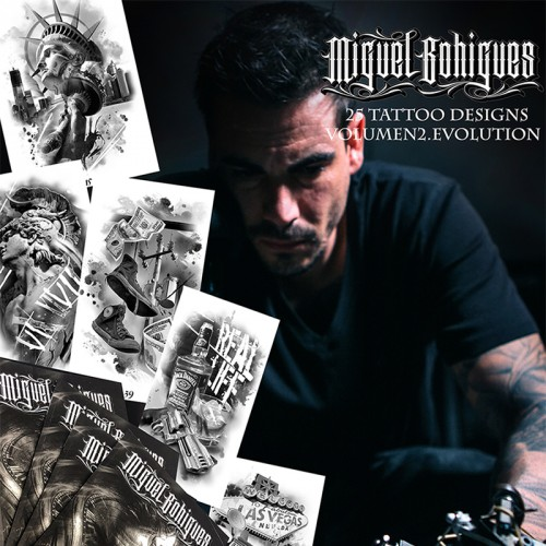 Libro de Tatuajes Tattoo Designs Miguel Bohigues Vol2 EVOLUTION