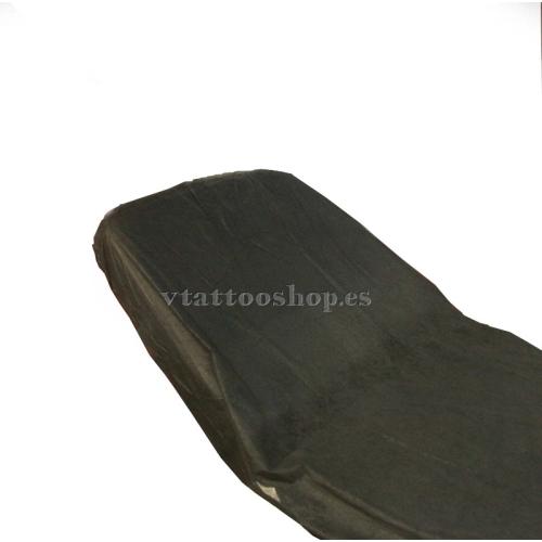 SABANAS AJUSTABLES NEGRO 95 X 210cm. 100 uds.