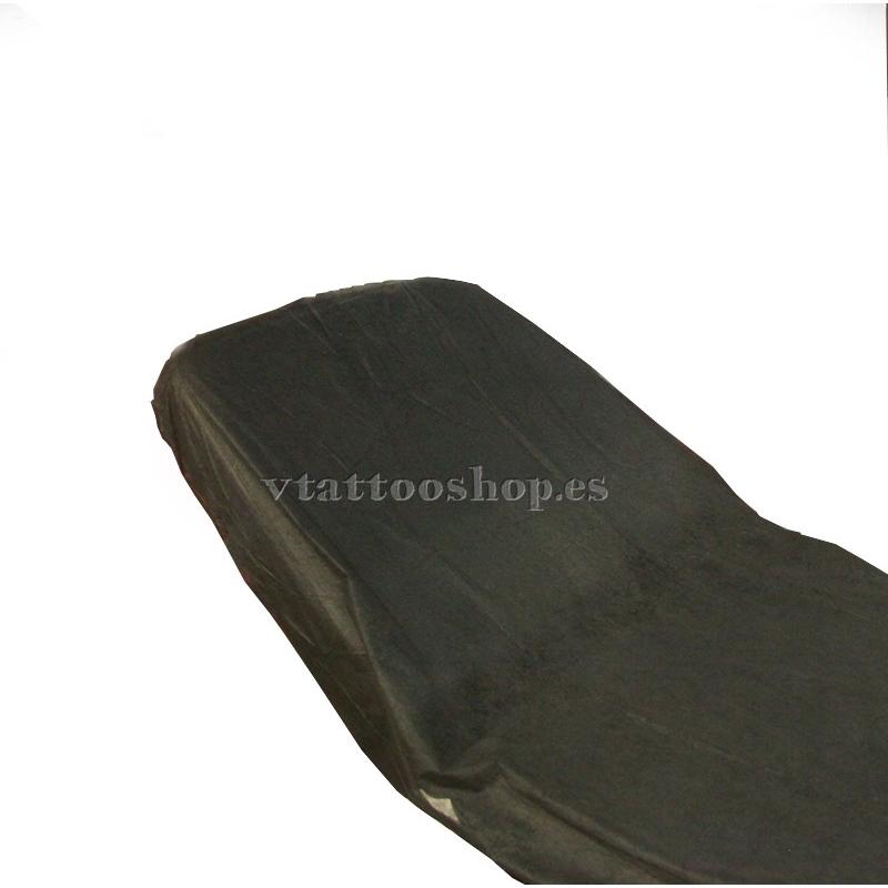 ADJUSTABLE SHEETS BLACK 95 X 210cm. 100 pcs.