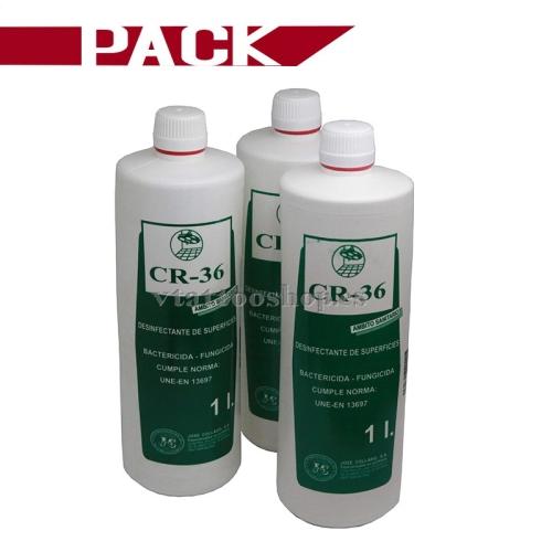 PACK 3 BOTELLAS CR36 1 litro.