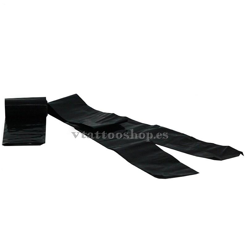 Bolsas protectoras cubre clip cord negras 250 uds