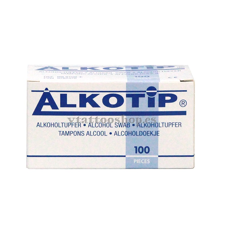 Disinfectant wipes Alkotip