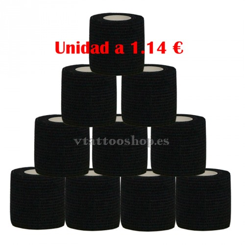 GRIP COVER BLACK 50 mm 12 units